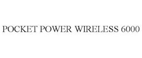 POCKET POWER WIRELESS 6000