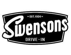 SWENSONS DRIVE-IN EST. 1934