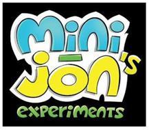 MINI - JON'S EXPERIMENTS