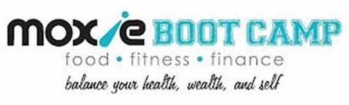 MOXIE BOOT CAMP FOOD · FITNESS · FINANCE BALANCE YOUR HEALTH, WEALTH, AND SELF