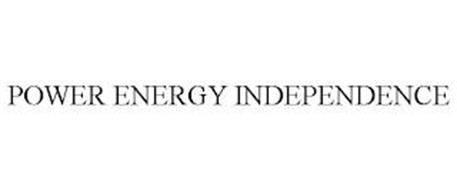 POWER ENERGY INDEPENDENCE