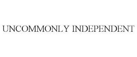 UNCOMMONLY INDEPENDENT
