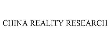 CHINA REALITY RESEARCH