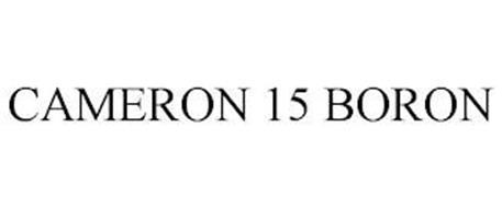 CAMERON 15 BORON