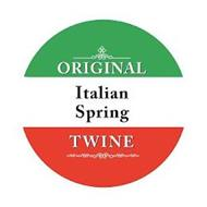 ORIGINAL ITALIAN SPRING TWINE