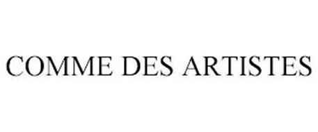 COMME DES ARTISTES