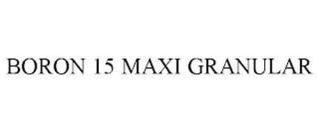BORON 15 MAXI GRANULAR