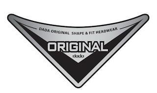 DADA ORIGINAL SHAPE & FIT HEADWEAR ORIGINAL DADA