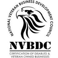 NATIONAL VETERAN BUSINESS DEVELOPMENT COUNCIL NVBDC CERTIFICATION OF DISABLED & VETERAN-OWNED BUSINESSES
