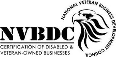 NVBDC CERTIFICATION OF DISABLED & VETERAN-OWNED BUSINESSES NATIONAL VETERAN BUSINESS DEVELOPMENT COUNCIL