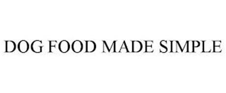 DOG FOOD MADE SIMPLE