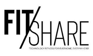 FIT/SHARE TECHNOLOGY FITNESS FOR EVERYONE, EVERYWHERE!