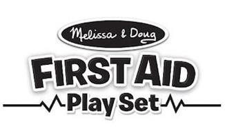 MELISSA & DOUG FIRST AID PLAY SET