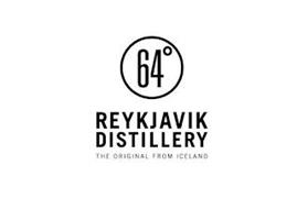 64° REYKJAVIK DISTILLERY THE ORIGINAL FROM ICELAND