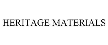 HERITAGE MATERIALS