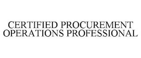 CERTIFIED PROCUREMENT OPERATIONS PROFESSIONAL