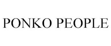 PONKO PEOPLE