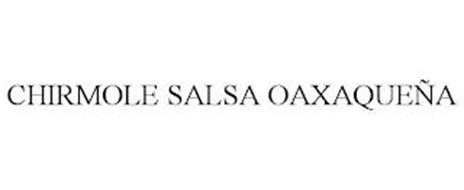 CHIRMOLE SALSA OAXAQUEÑA