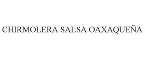 CHIRMOLERA SALSA OAXAQUEÑA
