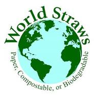 WORLD STRAWS PAPER, COMPOSTABLE, OR BIODEGRADABLE