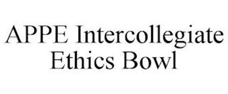 APPE INTERCOLLEGIATE ETHICS BOWL