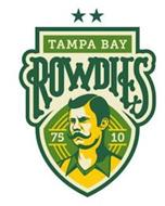 TAMPA BAY ROWDIES 75 10