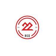 22 RED LA CA
