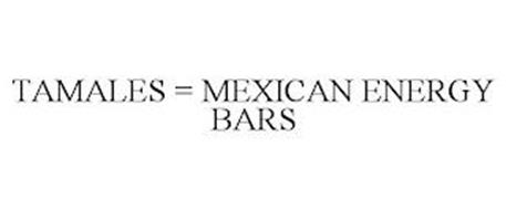 TAMALES = MEXICAN ENERGY BARS
