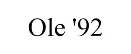 OLE '92