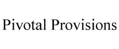 PIVOTAL PROVISIONS