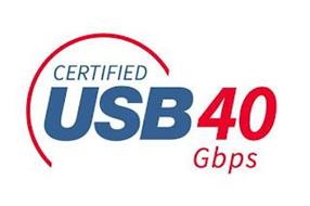 CERTIFIED USB 40 GBPS