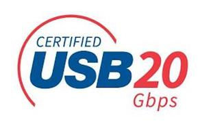 CERTIFIED USB 20 GBPS