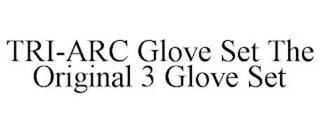 TRI-ARC GLOVE SET THE ORIGINAL 3 GLOVE SET