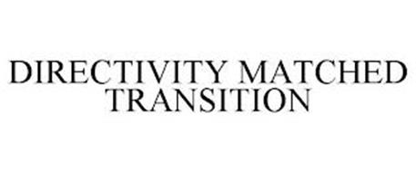 DIRECTIVITY MATCHED TRANSITION
