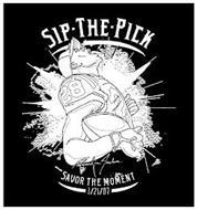 SIP THE PICK 28 2 MARLIN JACKSON SAVOR THE MOMENT 1/21/07