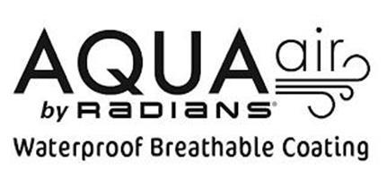 AQUA AIR BY RADIANS WATERPROOF BREATHABLE COATING
