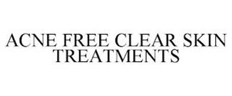 ACNE FREE CLEAR SKIN TREATMENTS