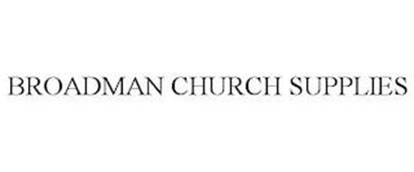 BROADMAN CHURCH SUPPLIES