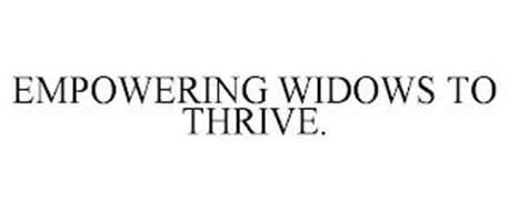 EMPOWERING WIDOWS TO THRIVE.