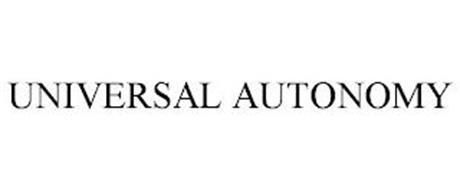 UNIVERSAL AUTONOMY