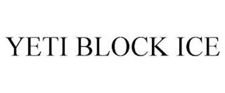 YETI BLOCK ICE