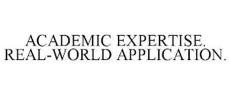 ACADEMIC EXPERTISE. REAL-WORLD APPLICATION.