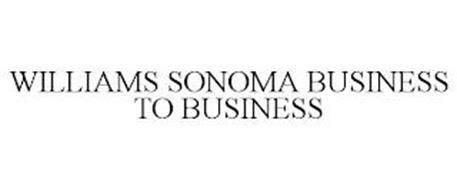 WILLIAMS SONOMA BUSINESS TO BUSINESS