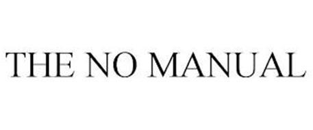 THE NO MANUAL