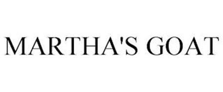 MARTHA'S GOAT