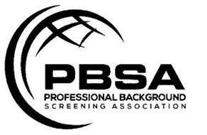 PBSA PROFESSIONAL BACKGROUND SCREENING ASSOCIATION