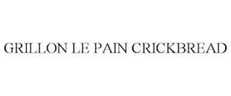 GRILLON LE PAIN CRICKBREAD