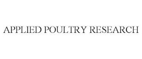 APPLIED POULTRY RESEARCH