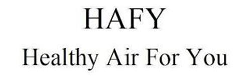 HAFY HEALTHY AIR FOR YOU