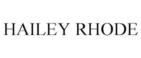 HAILEY RHODE